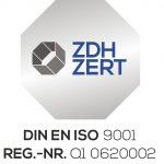 ISP Kabelsatz GmbH DIN EN ISO 9001:2015 Zertifizierung.
